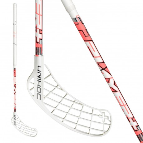 UNIHOC Player+ Top Light II 29 white/coral