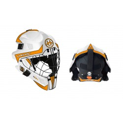 UNIHOC Goalie Mask Unihoc Summit 66 Optima white/orange