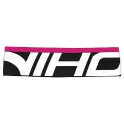 UNIHOC Headband Slick mid black/white/magenta