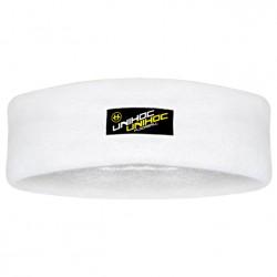 UNIHOC Headband Terrycloth mid white