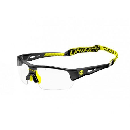 UNIHOC Eyewear Victory SR black/neon yellow