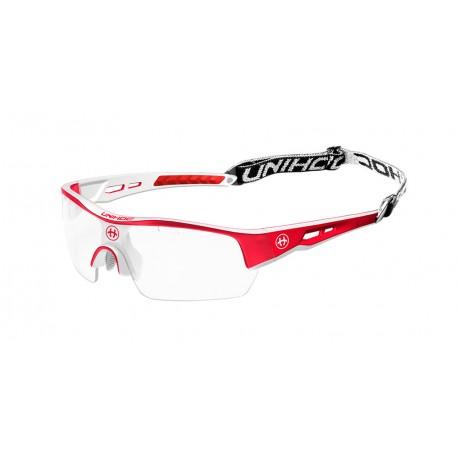 UNIHOC Eyewear Victory senior red/white