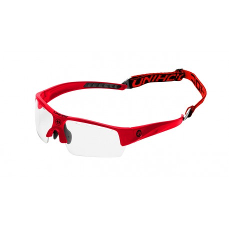 UNIHOC Eyewear Victory junior neon red/black