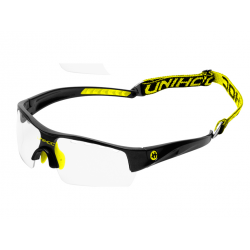 UNIHOC Eyewear Victory junior black/neon yellow