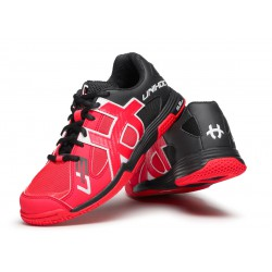 UNIHOC Shoe U3 Speed Lady neon red/black