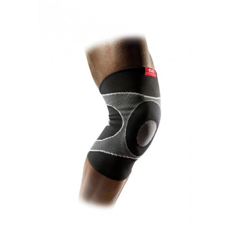 MD5125 McDavid Knee Sleeve 4-way elastic w/ gel buttress