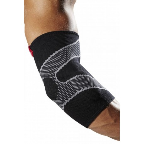 MD5130 McDavid Elbow Sleeve 4 way elastic w/ Gel buttresses