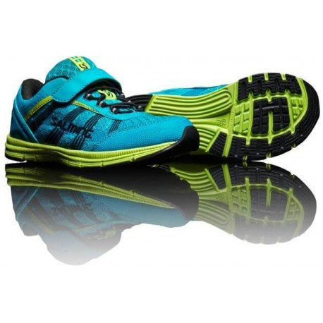 SALMING Speed Shoe Kid Velcro Cyan Blue