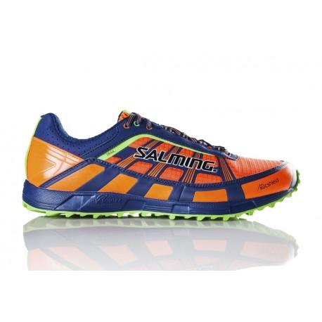 SALMING Trail T3 Shoe Men Shocking Orange/Deep Blue