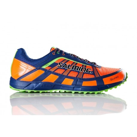 SALMING Trail T3 Shoe Men Shocking Orange/Deep Blue