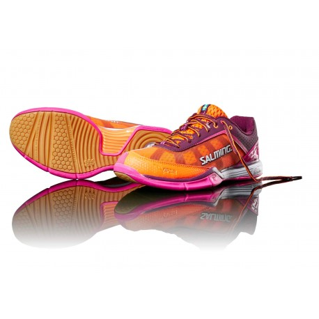 SALMING Viper 4 Women Purple/Orange