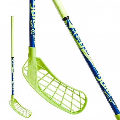 SALMING Quest2 Kid Lime/Blue