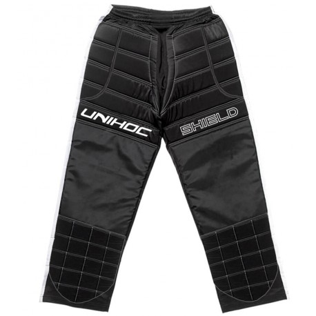 UNIHOC Goalie pants Shield black/white SR