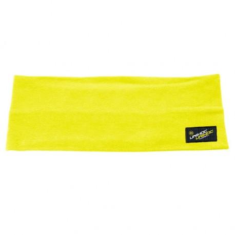UNIHOC Headband Omega wide neon yellow