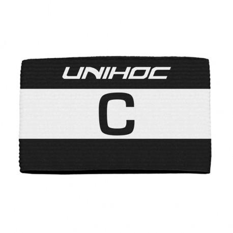 UNIHOC Captain´s band Skipper black/white