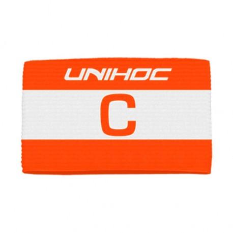 UNIHOC Captain´s band Skipper red/white