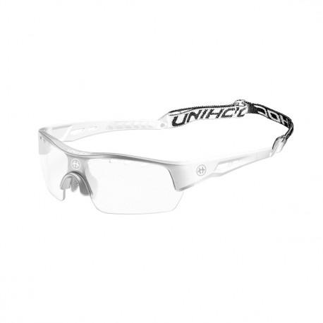 UNIHOC Eyewear Victory senior silver/white