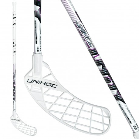 UNIHOC Unity Top Light II 29 white/purple