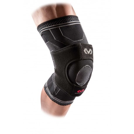 MD5147 McDavid ELITE Knee Support w/ dual wrap & stays