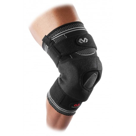 MD5149 McDavid ELITE Knee Brace w/ dual wrap