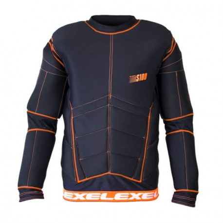 EXEL S100 Protection Shirt black/orange XXL