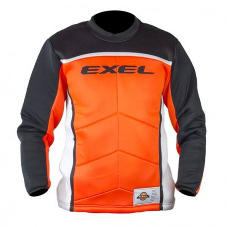 EXEL S60 Goalie Jersey black/orange SR