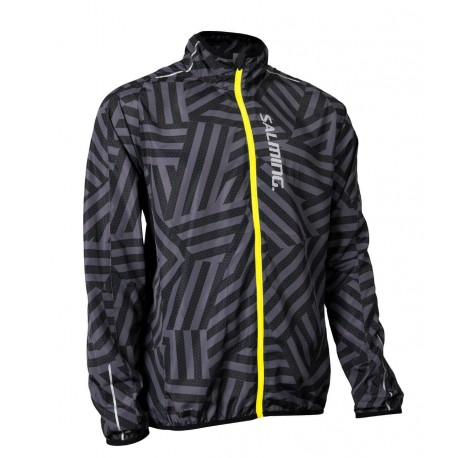SALMING Ultralite Jacket 2.0 Men  Black/Grey