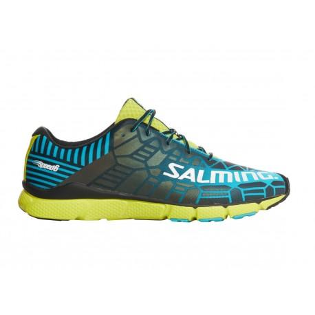 SALMING Speed 6 Men Blue/Lime