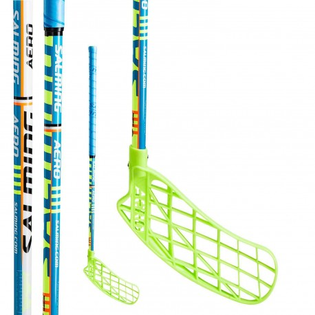 SALMING Aero 35 MID Blue/Green