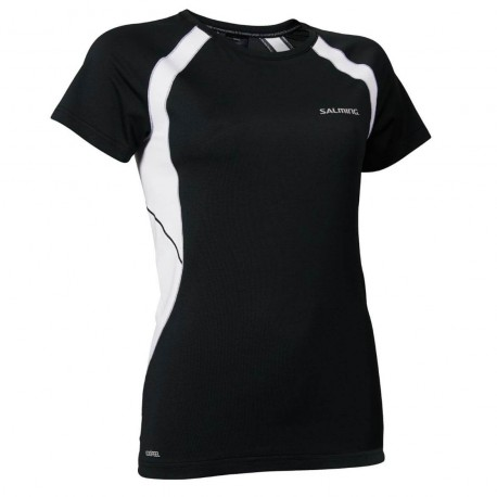 SALMING Nova Tee Wmn Black/White