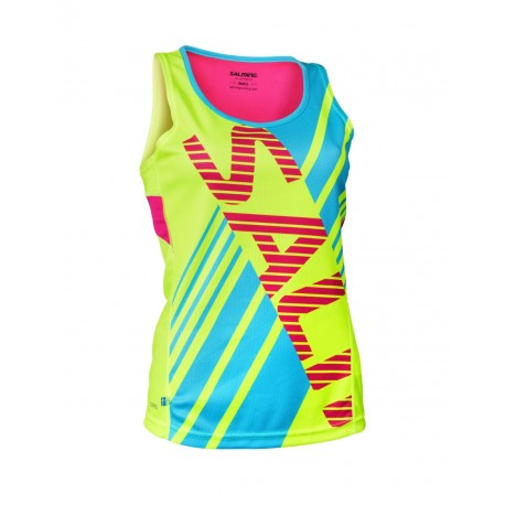 SALMING Race Singlet Wmn Yellow