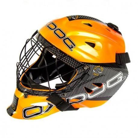 OXDOG Tour Goalie Helmet SR orange