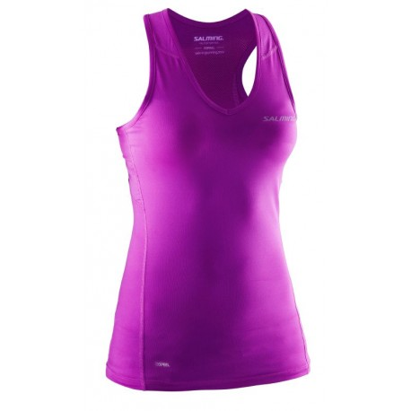 SALMING Running Tanktop Women Purple