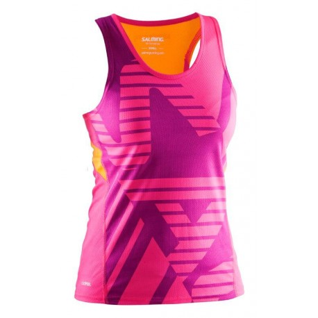 SALMING Running Race Singlet Women Pink