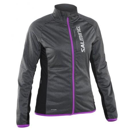 SALMING Running Jacket Women Grey