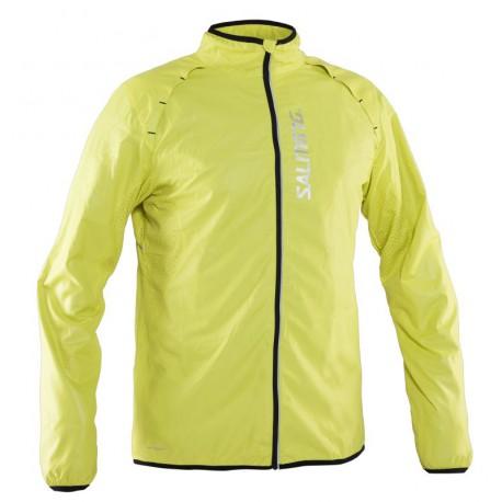 SALMING Running Ultralite Jacket Men Acid Green