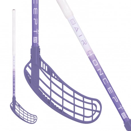 ZONE Force AIR JR 35 white/violet