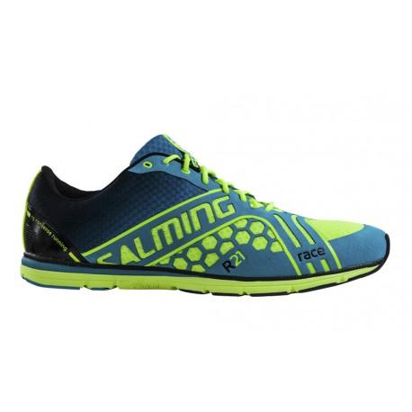 SALMING Race Shoe Women Yellow/Blue