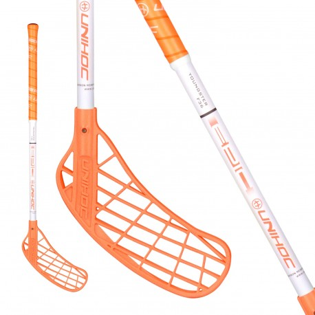 UNIHOC Epic YOUNGSTER 36 neon orange/wh.