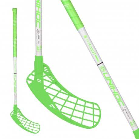 UNIHOC Epic YOUNGSTER 36 neon green/white