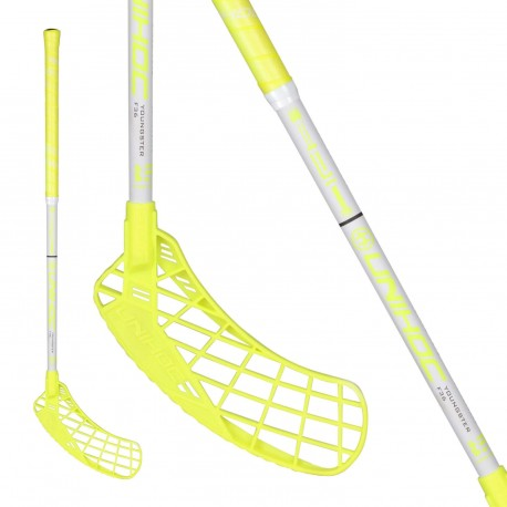 UNIHOC Epic YOUNGSTER 36 neon yellow/wh.