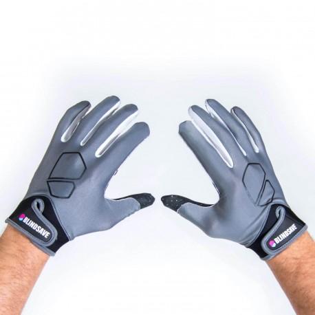BLINDSAVE Gloves grey