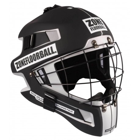 ZONE Goalie Mask Monster Square Cage black/white