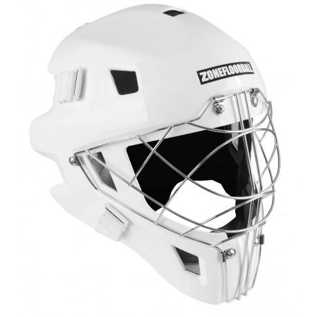 ZONE Goalie Mask MONSTER CAT EYE CAGE all white