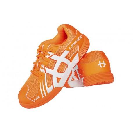UNIHOC Shoe U3 Junior Unisex orange/white