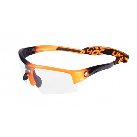 UNIHOC Eyewear VICTORY kids neon orange/black