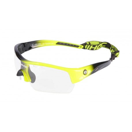 UNIHOC Eyewear VICTORY junior neon yellow/black