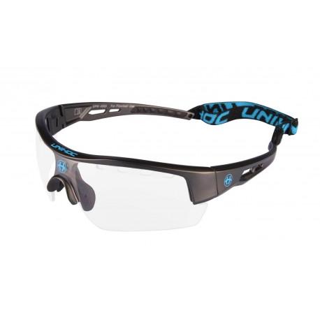 UNIHOC Eyewear VICTORY senior gunmetal/blue