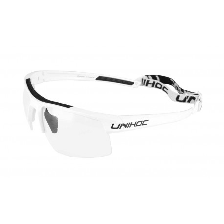 UNIHOC Eyewear ENERGY junior white/black
