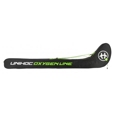 UNIHOC Stick cover OXYGEN LINE junior 80-87cm black